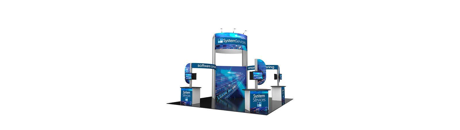 Modular Trade Show Booth Kit