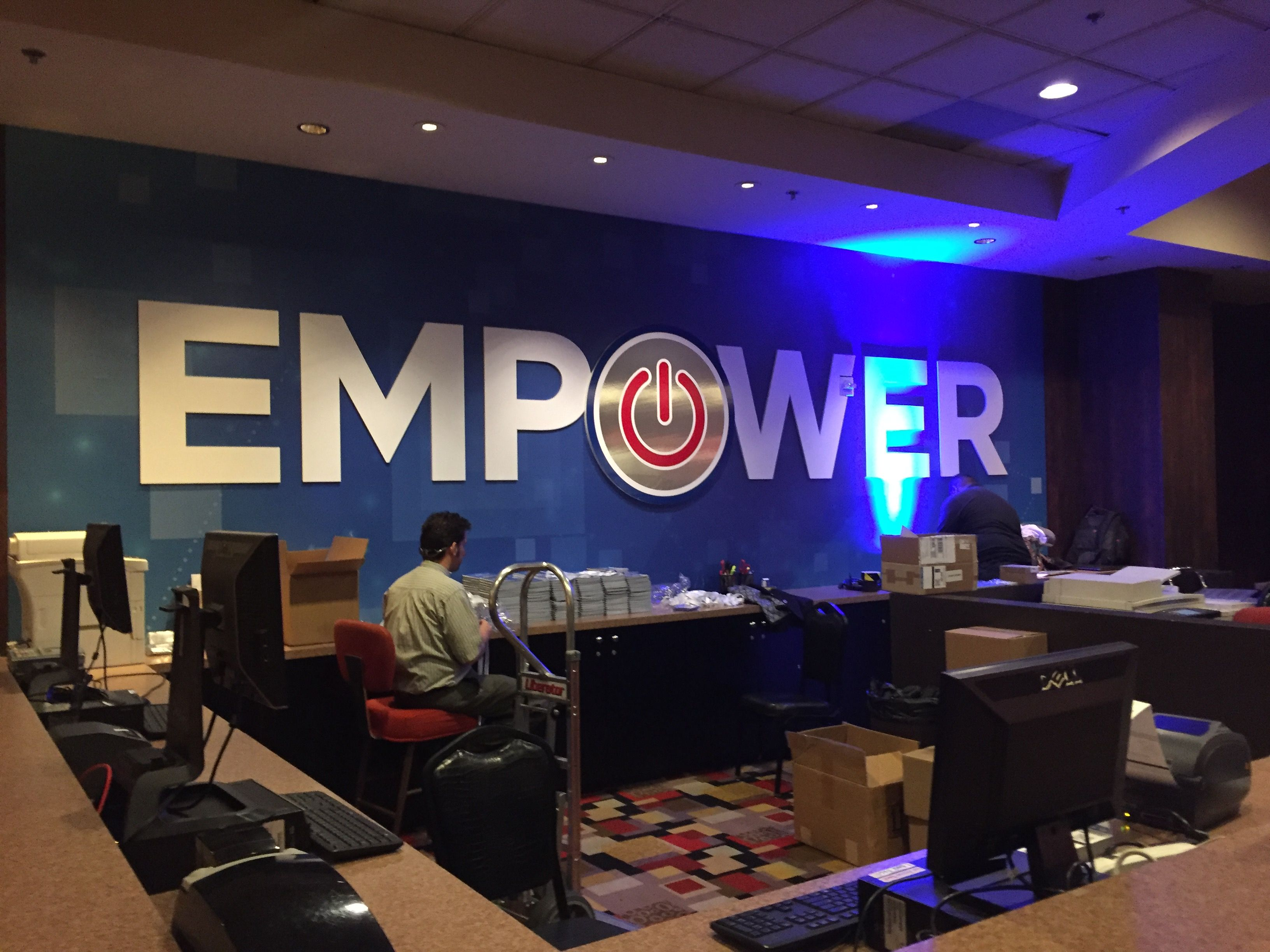 Wall Wrap for Empower