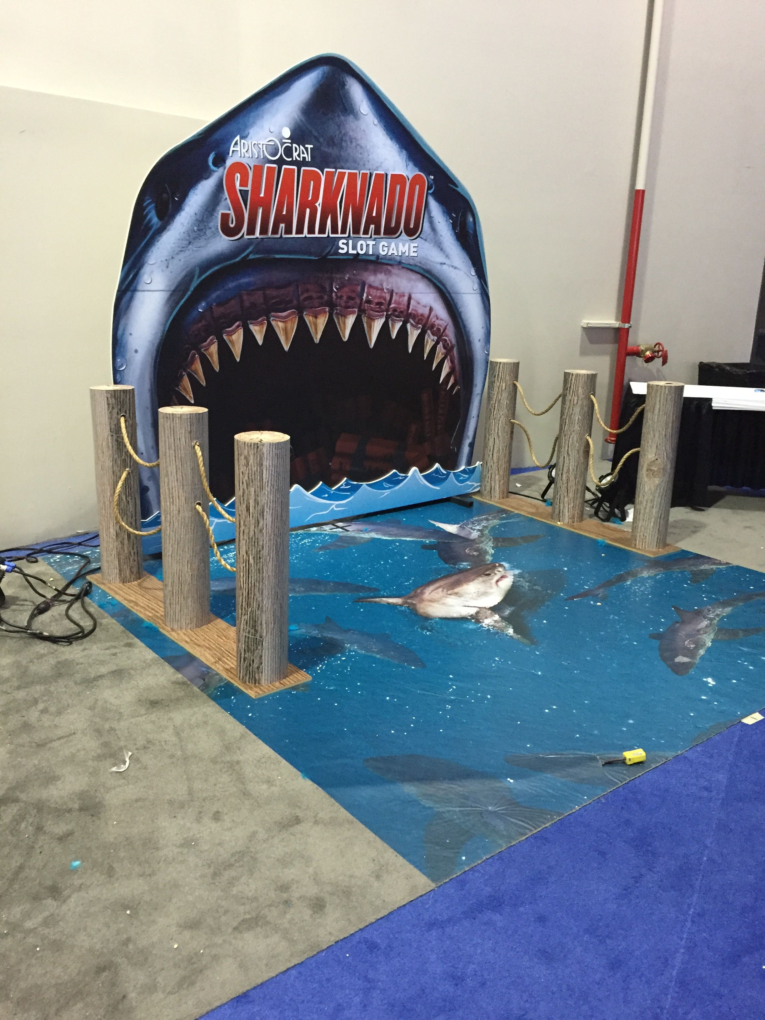 Wall Effect Shark Backdrop