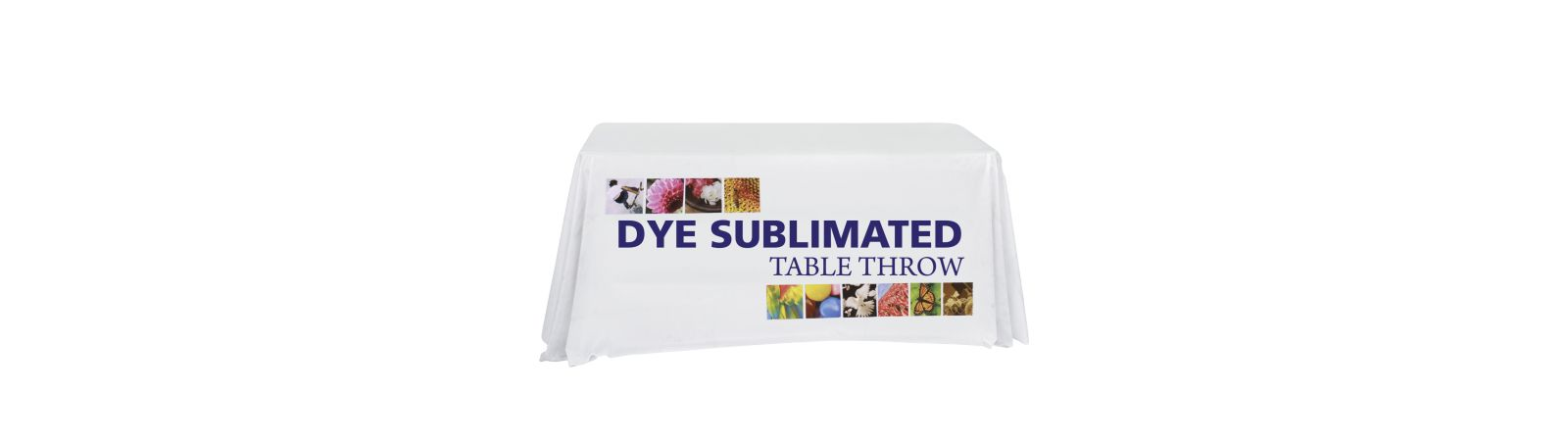 Dye Sub Custom Print Table Throws