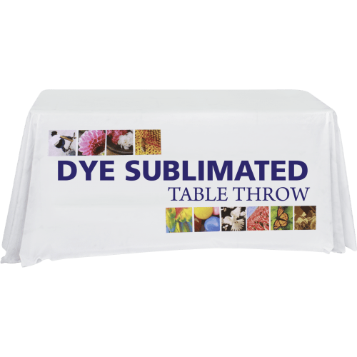 Dye Sublimated Table Throw