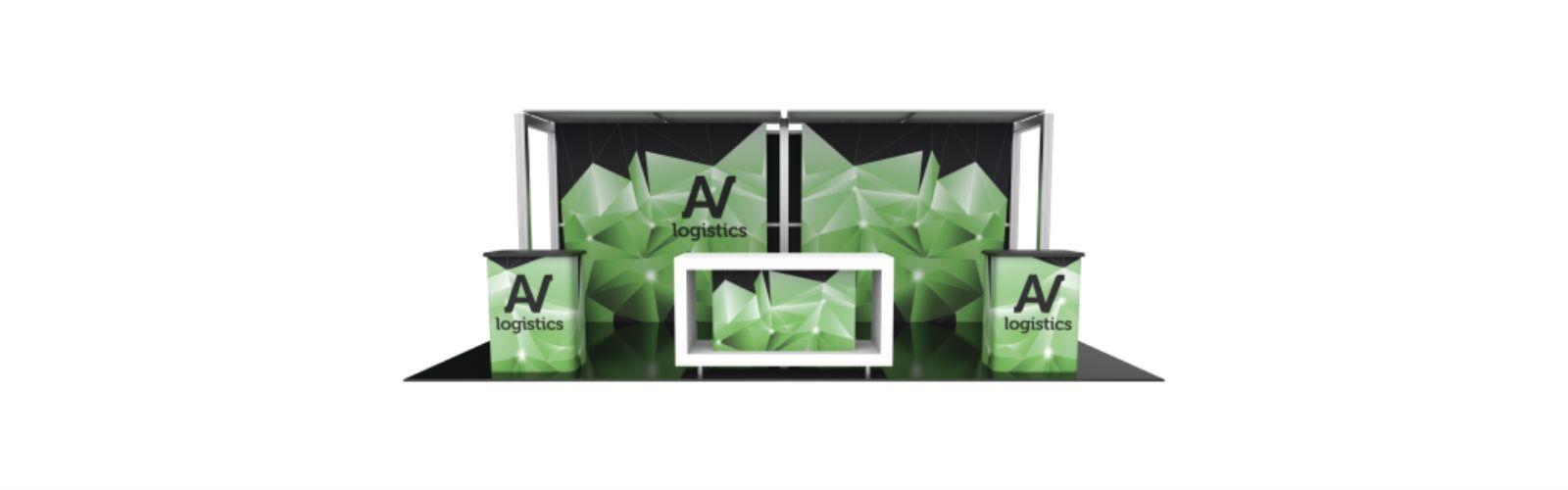 hybrid pro 20ft modular backwall kit 12 front