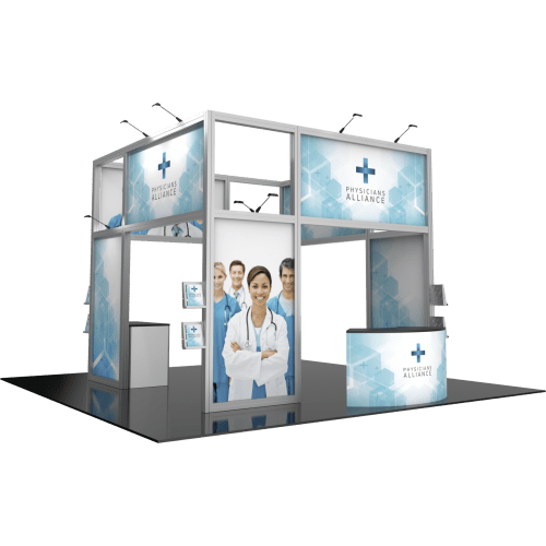 Hybrid Island Display Medical