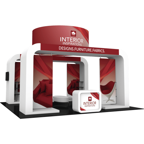 Custom Island Trade Show Booth Kit