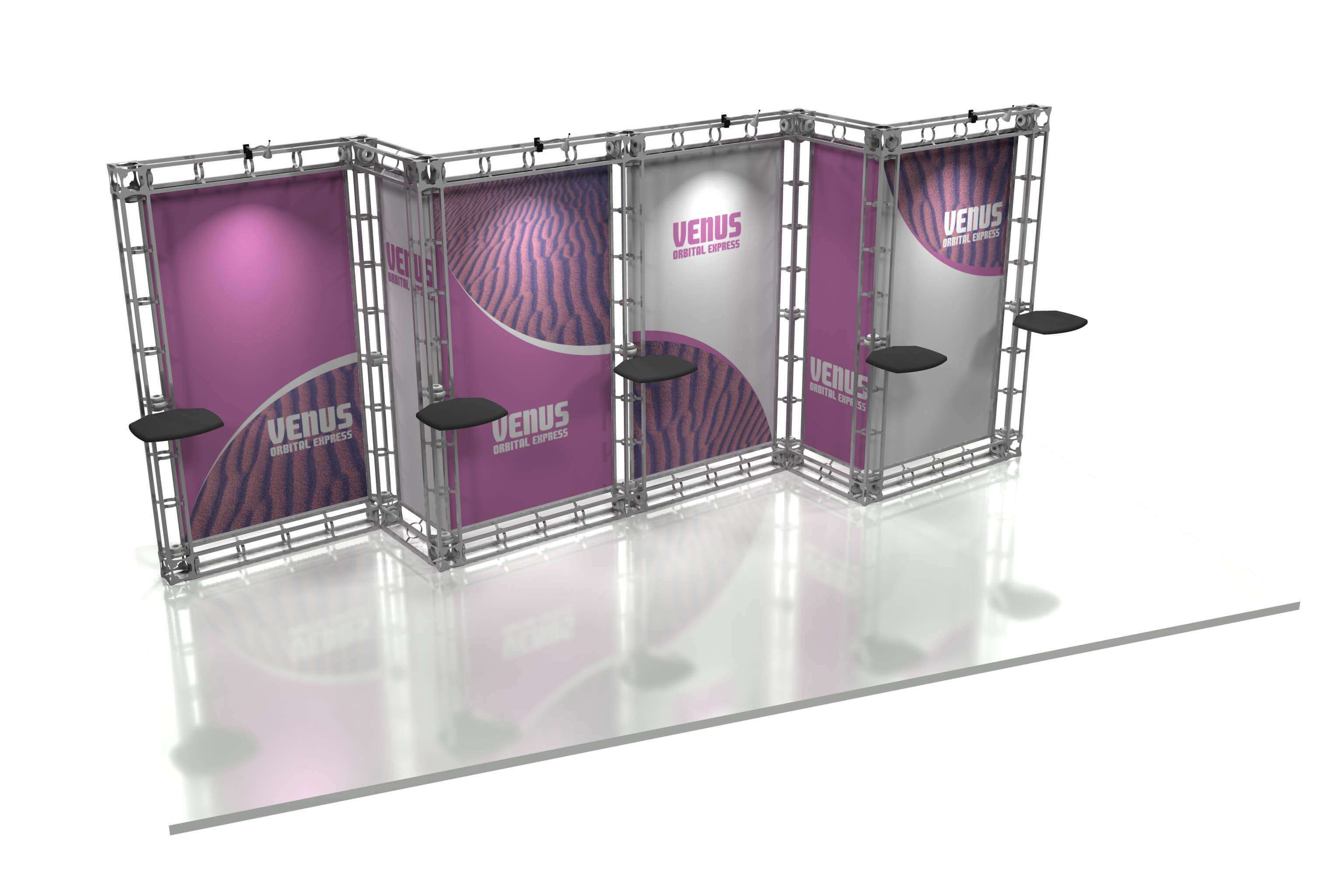 Exhibition Booth Printing : Custom exhibit truss system big printing las vegas