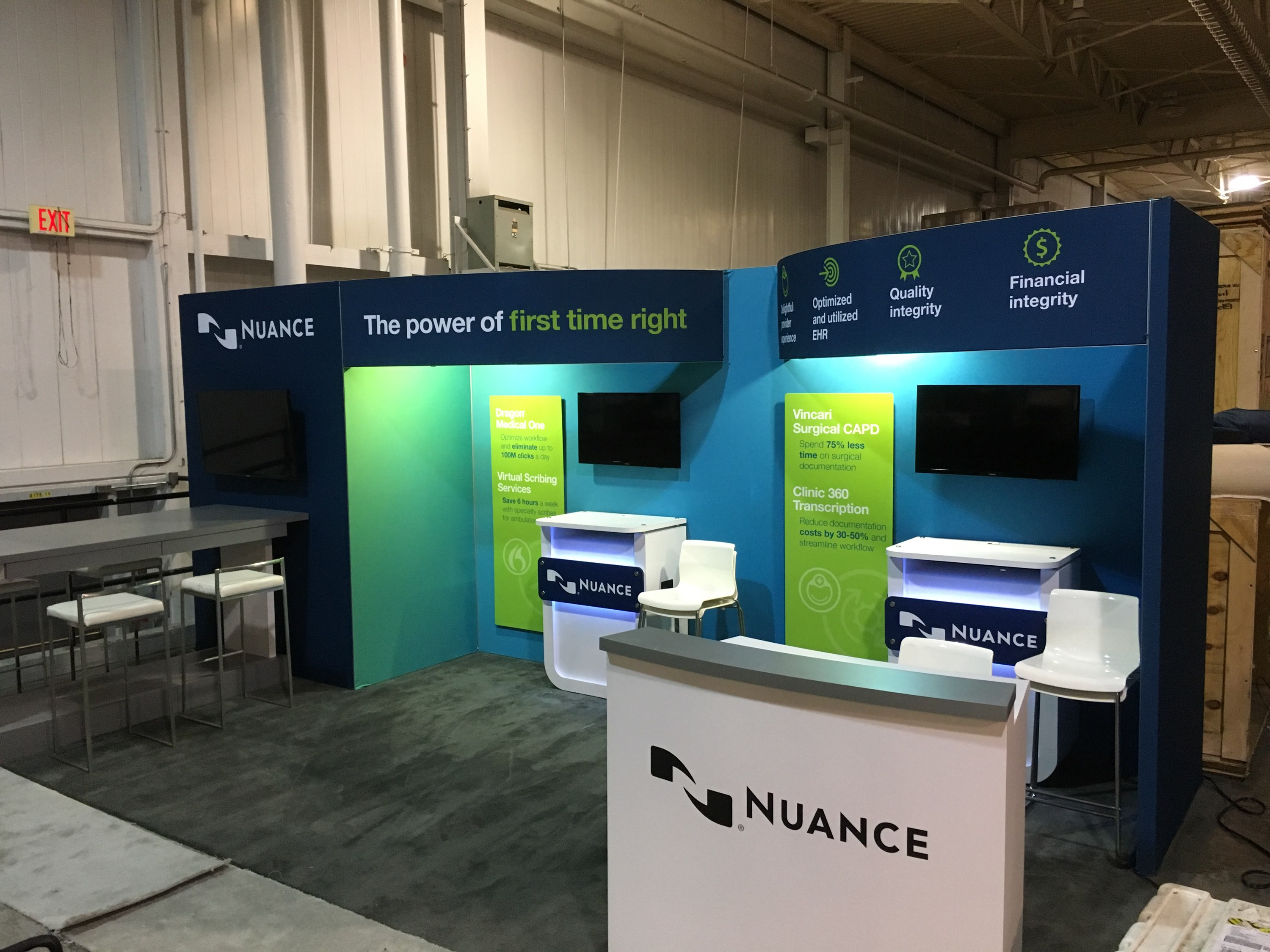 Nuance Trade Show Booth Displays