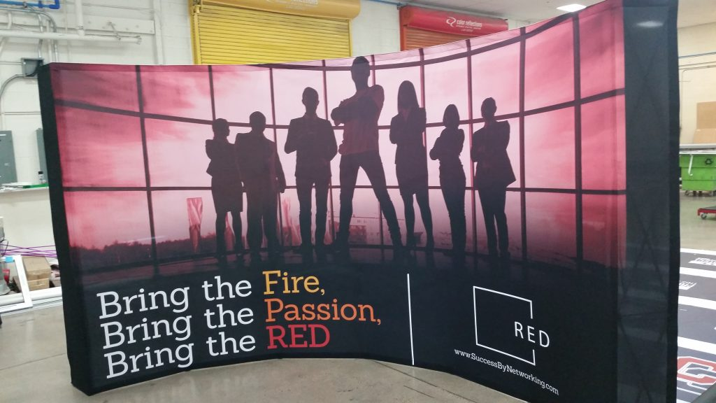 Custom Wall Backdrop for Trade Shows and Conventions from Big Printing Las Vegas