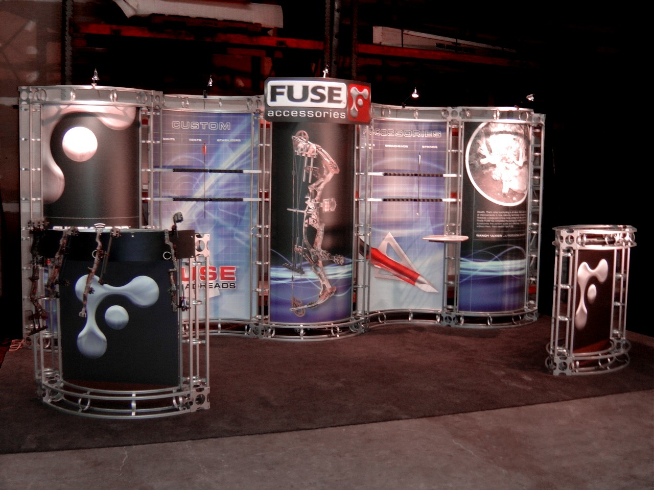 Bold Display Graphics for a trade show display booth by Big Printing Las Vegas